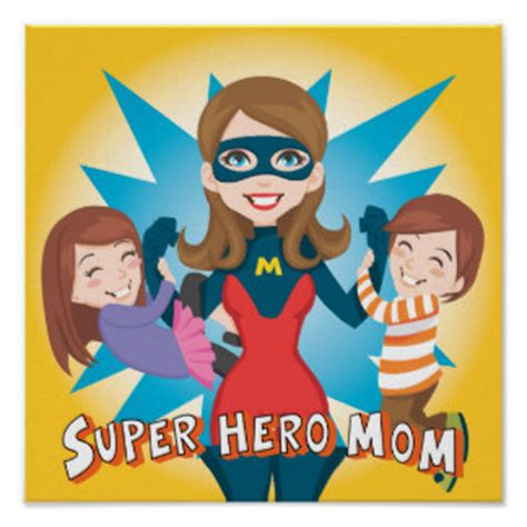 Mom My Hero, Mother Daughter Poem - Family Friend Poems